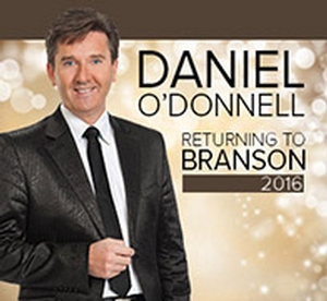 Daniel O'Donnell information, schedule, and show tickets for 2021 & 2022 in Branson, MO.