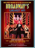 Broadway - The Greatest Hits - Branson, Missouri 2019 / 2020 Information, discount show tickets, schedule, and map