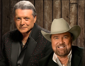 Mickey Gilley and Johnny Lee - Urban Cowboy Reunion information, schedule, and show tickets for 2020 & 2021 in Branson, MO.