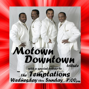 Motown Downtown Tribute information, schedule, and show tickets for 2020 & 2021 in Branson, MO.