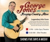 George Jones and Friends - Branson, Missouri 2018 / 2019 information, schedule, map, and discount tickets!