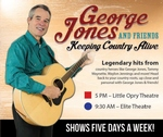 George Jones and Friends - Branson, Missouri 2018 / 2019 Information, discount show tickets, schedule, and map