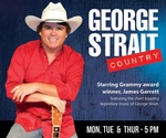George Strait Country - Starring James Garrett - Branson, Missouri 2018 / 2019 Information, discount show tickets, schedule, and map