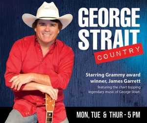 George Strait Country information, schedule, and show tickets for 2020 & 2021 in Branson, MO.