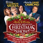 Andy Williams Ozark Mountain Christmas - Branson, Missouri 2018 / 2019 Information, discount show tickets, schedule, and map
