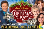 Andy Williams Ozark Mountain Christmas - Branson, Missouri 2020 / 2021 Information, discount show tickets, schedule, and map