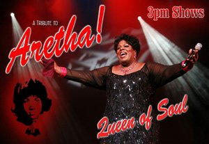 Queen of Soul -  Aretha Franklin Tribute information, schedule, and show tickets for 2019 & 2020 in Branson, MO.