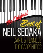 Best of Neil Sedaka, Captain & Tennille, & The Carpenters - Branson, Missouri 2019 / 2020 Information, discount show tickets, schedule, and map