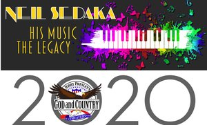 Neil Sedaka - The Legacy information, schedule, and show tickets for 2020 & 2021 in Branson, MO.
