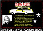 Love, Lunch, & Laugh - International Comedian Steve Moris - Branson, Missouri 2020 / 2021 Information, discount show tickets, schedule, and map