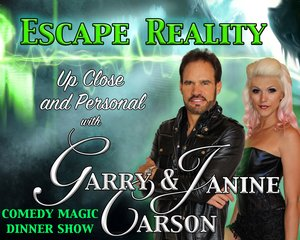 Escape Reality Dinner Show information, schedule, and show tickets for 2021 & 2022 in Branson, MO.