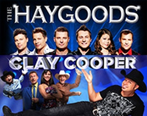 Clay Cooper & the Haygood's New Years Eve information, schedule, and show tickets for 2020 & 2021 in Branson, MO.